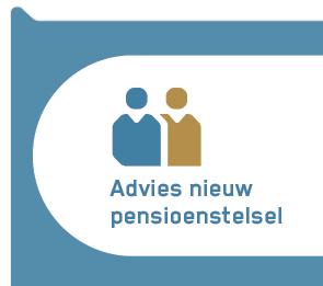 advies nieuw pensioenstelsel